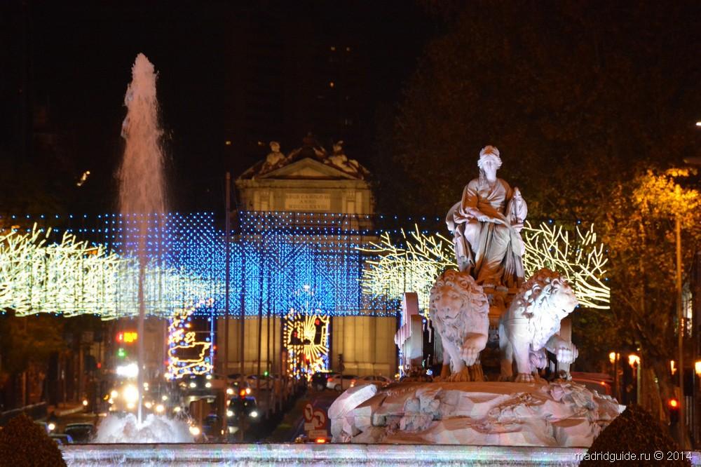 Кавалькада царей-волхвов в Мадриде 2015
