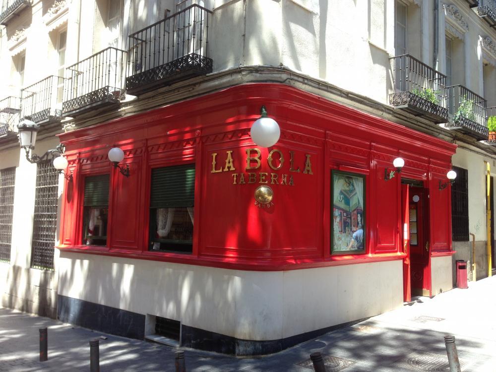 Новый год в Мадриде в ресторане La Bola