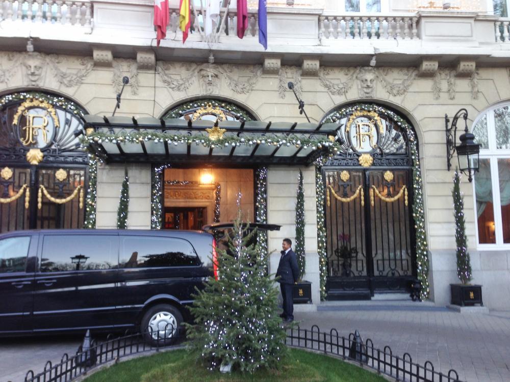 Отель Ritz в Мадриде