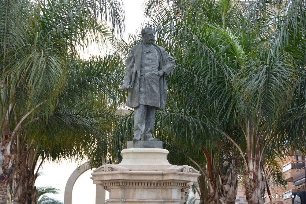 Экскурсии в Аликанте: памятник политику Eleuterio Maisonnave