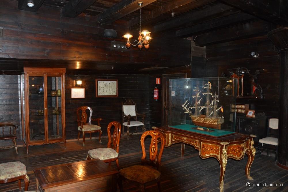 Музей корабля Святейшая Троица