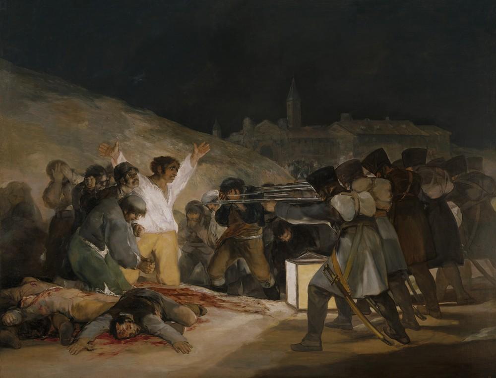 Франциско де Гойя, Расстрел 3 мая 1808 года