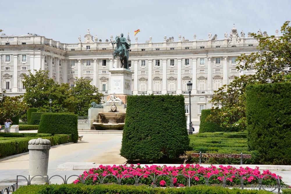 Монумент Филиппу IV в Мадриде