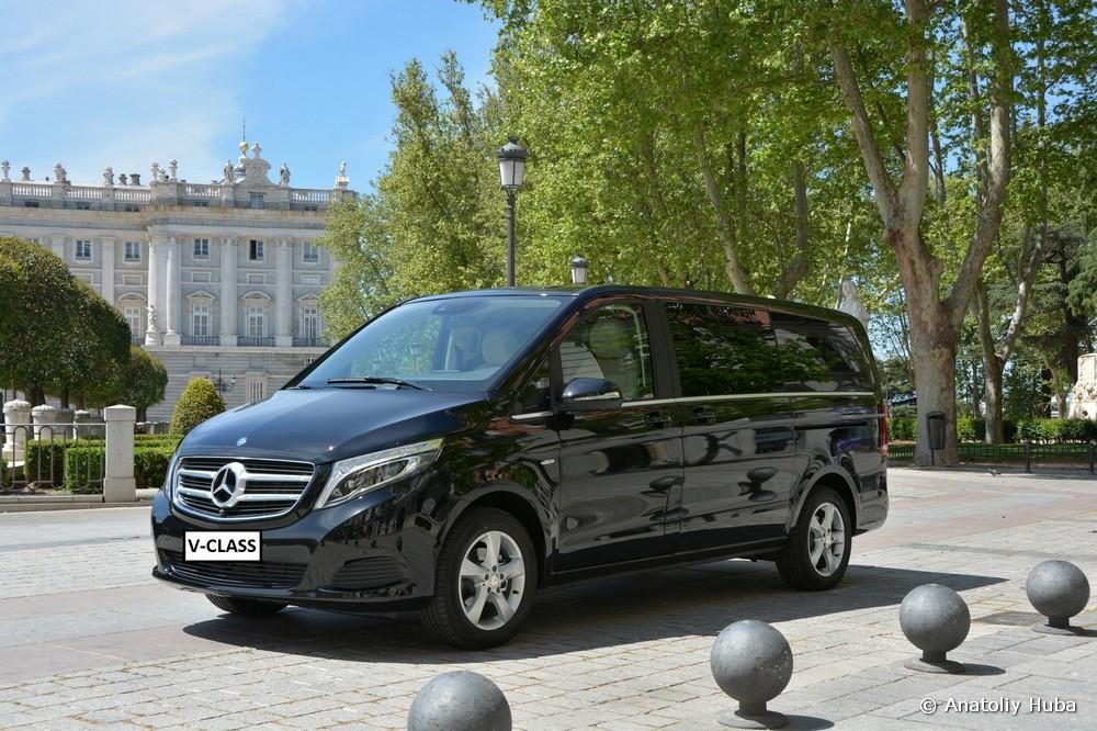Транспорт для экскурсий в Испании: Mercedes V-Class