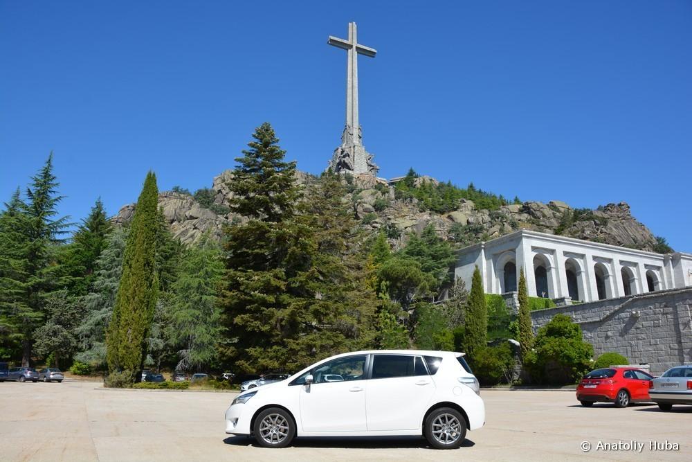 Транспорт для экскурсий в Испании: Toyota Verso Sky View