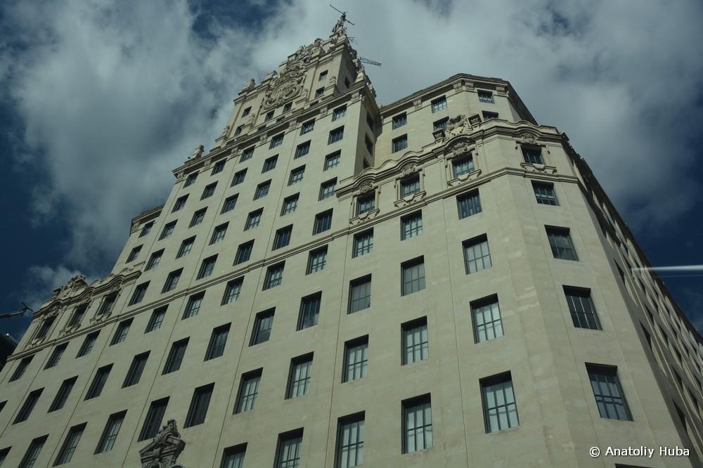 Мадрид, здание Телефоника, edificio Telefónica