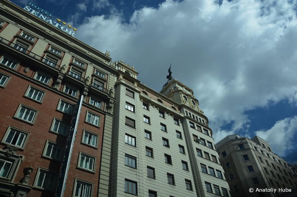 Мадрид, улица Gran Vía