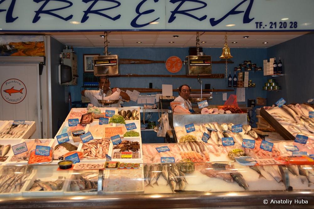 Рынок в Авиле