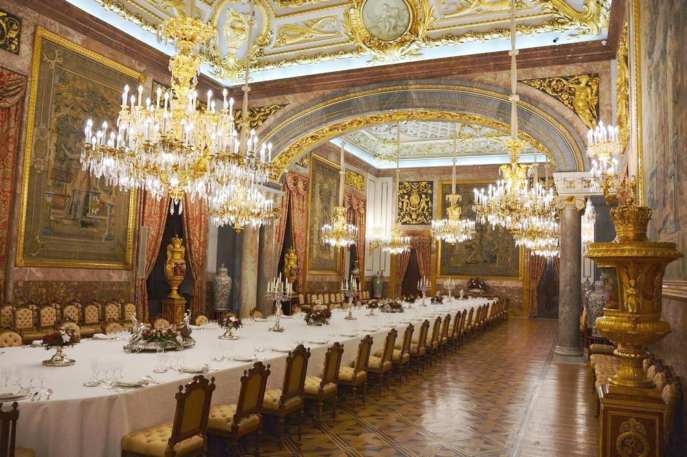 Парадный обеденный зал