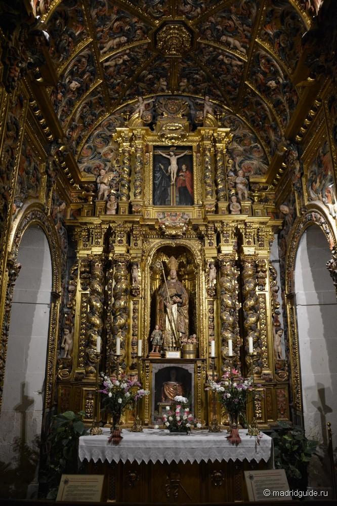 Сокафедральный собор в Аликанте, Главный алтарь