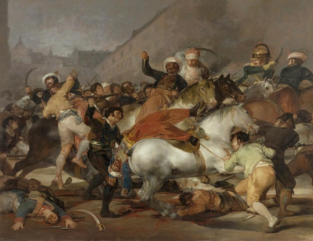 Франциско де Гойя, Восстание 2 мая 1808 года в Мадриде