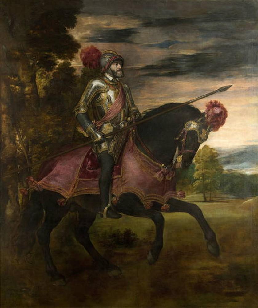 Тициан, Император Карл V в сражении под Мюльбергом