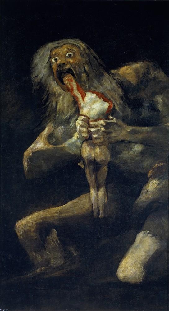 Франциско де Гойя, Сатурн, пожирающий своих детей