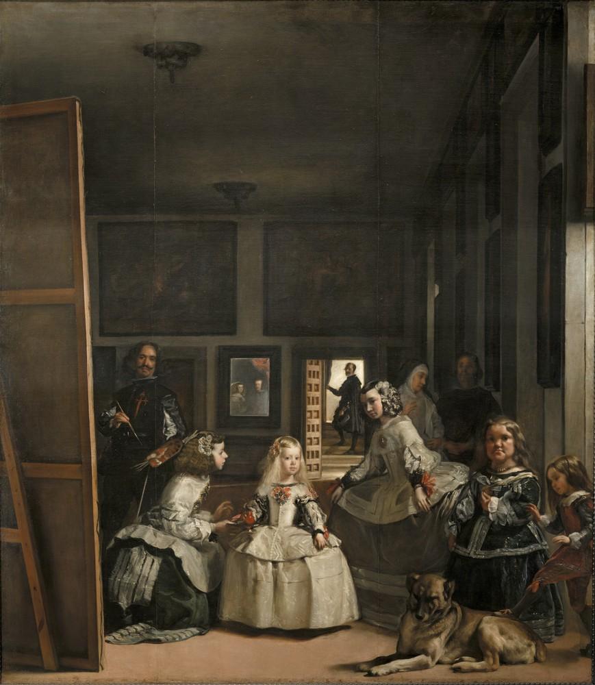 """Экскурсия в Музей Прадо, Диего Веласкес, """"Менины"""" (1656)"""