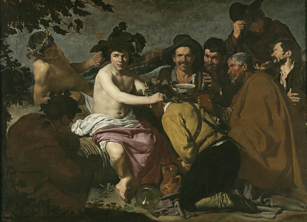 Экскурсия в Музей Прадо, Диего Веласкес, Пьяницы, или Триумф Вакха