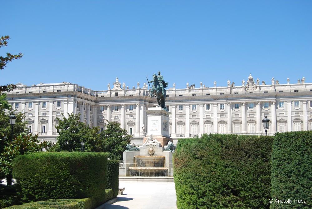 Восточная площадь в Мадриде