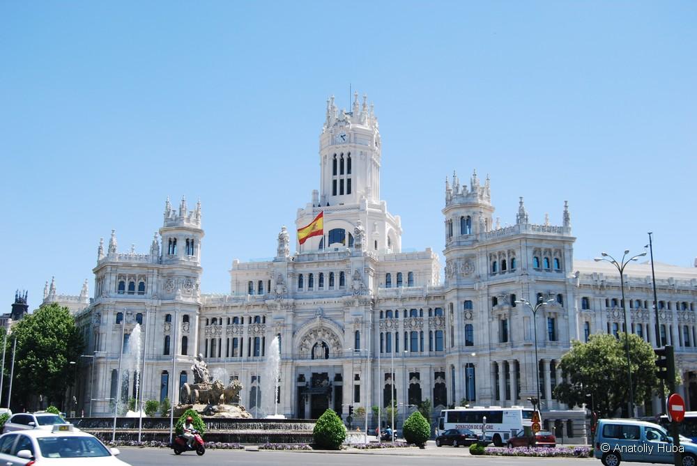 пешеходная экскурсия по Мадриду, площадь Кибелы