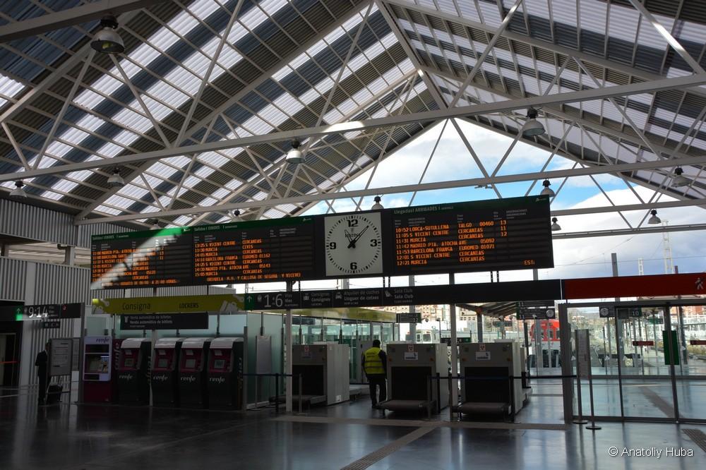 Как купить билеты на поезд в Испании
