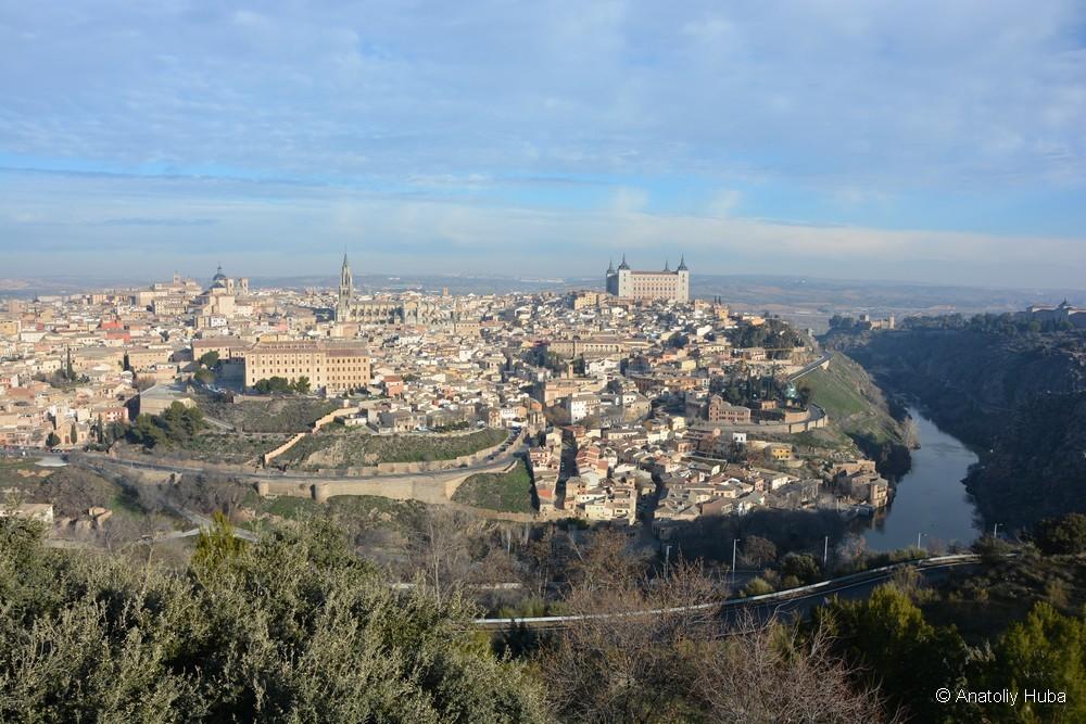 Вид Толедо, почти как на известной картине Эль-Греко