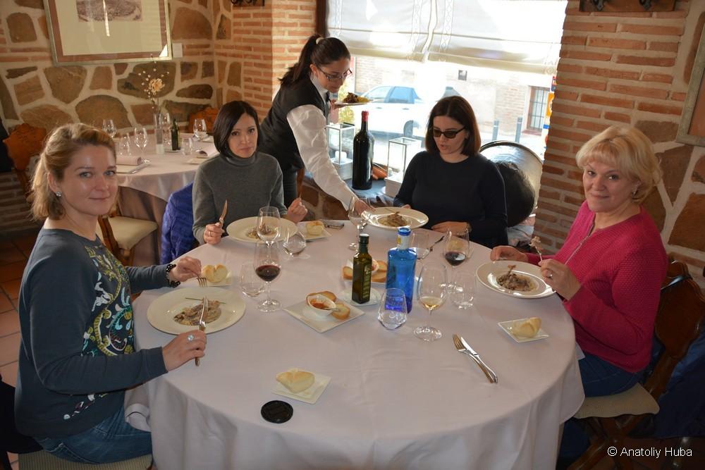 Ресторан в Толедо с лучшей куропаткой
