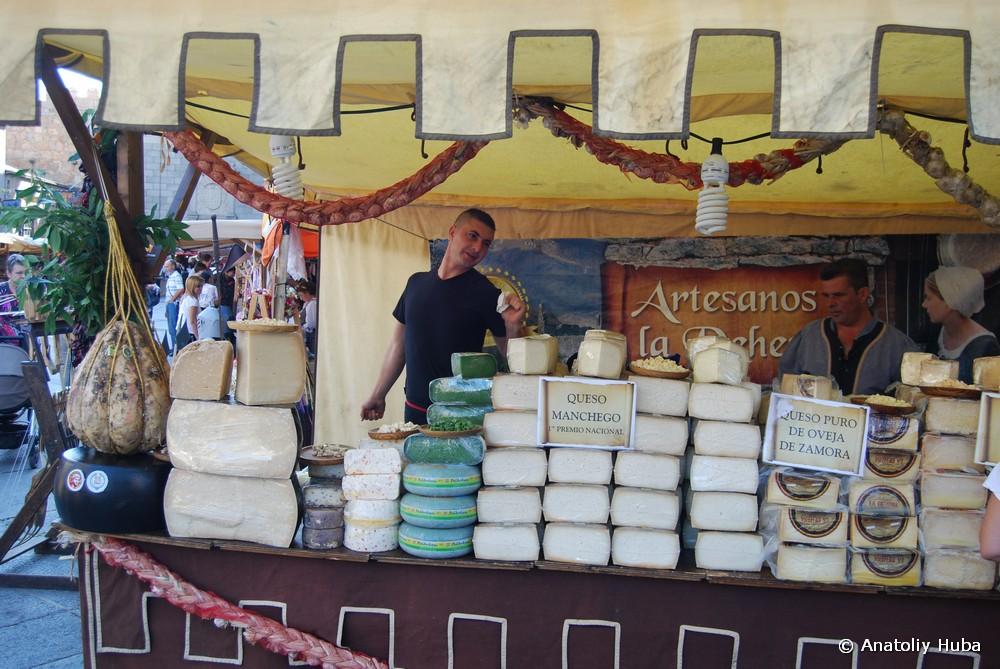 Сыры: манчего и овечий сыр из Саморы
