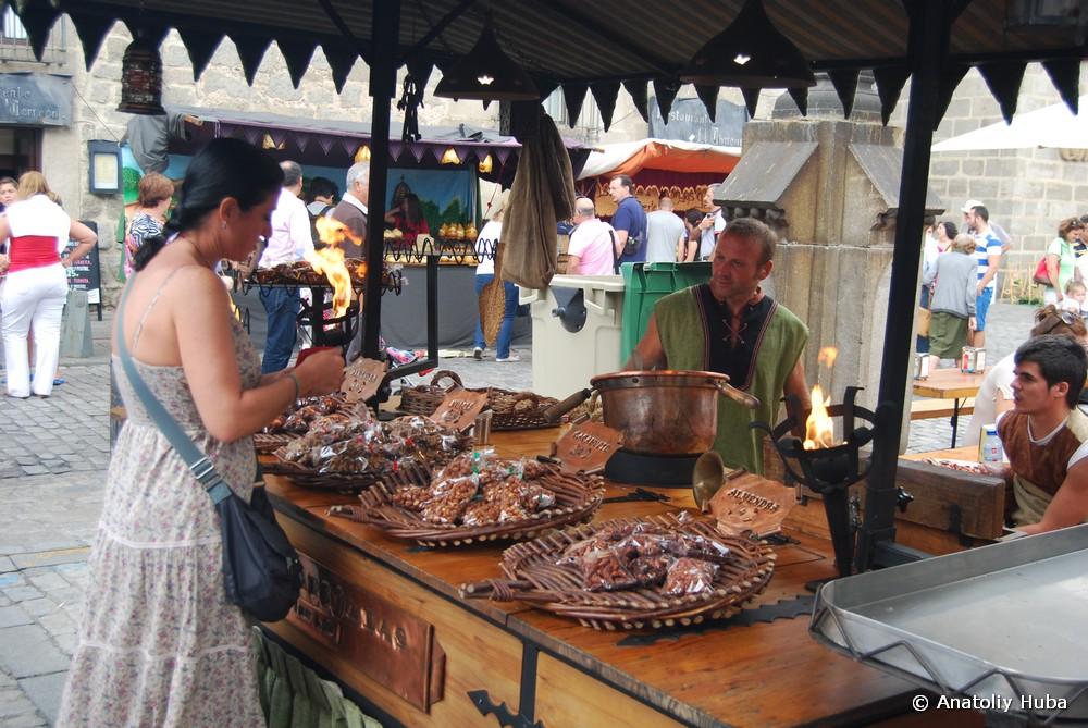 Средневековый праздник в Авиле